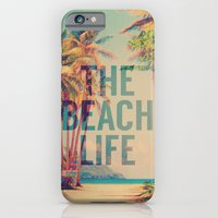 iPhone Cases featuring Beach Life by M Studio