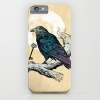 iPhone & iPod Case featuring Raven's Key by Rachel Caldwell