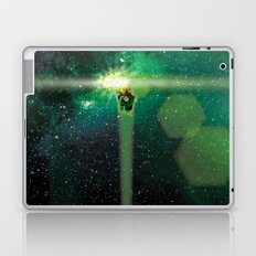 Super Bears - ACTION! the Green One Laptop & iPad Skin