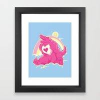 Curse Of The CareWere! Framed Art Print