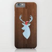 iPhone & iPod Case featuring SKY DEER by Megan Robinson