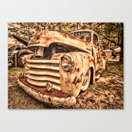 Canvas Print featuring Old Pickup ( Photo By An… by Maggs326