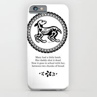 iPhone & iPod Case featuring Mary had a little lamb by Alexis Chong