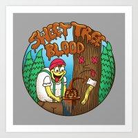 Sweet Tree Blood Art Print
