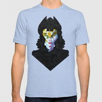 vamp Mens Fitted Tee Tri-Blue SMALL