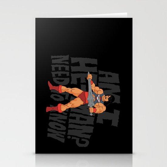 Am I He-Man? Stationery Card
