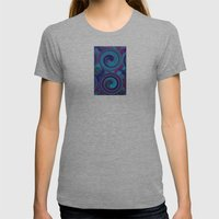 Spinning Womens Fitted Tee Athletic Grey SMALL