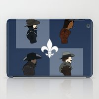 The Musketeers iPad Case