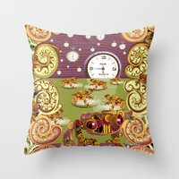 Freddie Croaker And The … Throw Pillow