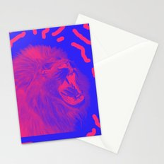 Lion Time Stationery Cards