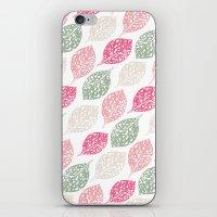 Leaf Print iPhone & iPod Skin