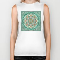 Sea Angel Kaleidoscope Biker Tank