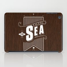 Facing The Sea iPad Case