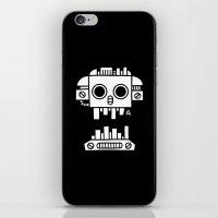 Mechanical Jolly Roger - PM iPhone & iPod Skin