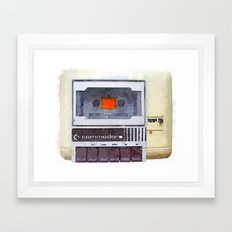 Commodore 64 tape drive Framed Art Print