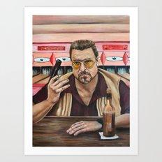 Walter / The Big Lebowski / John Goodman Art Print