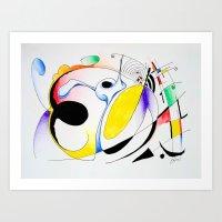 Shapes-1 Art Print