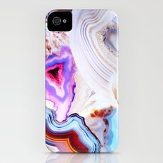 Agate, a vivid Metamorphic rock on Fire iPhone (4, 4s) Slim Case