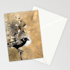 crow's soul Stationery Cards
