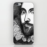 William Shakespeare Port… iPhone & iPod Skin