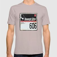 Sound City Mens Fitted Tee Cinder SMALL