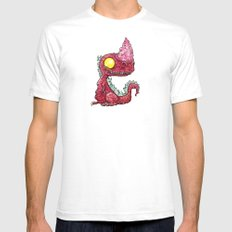 Baby Burntroxodon Mens Fitted Tee White SMALL