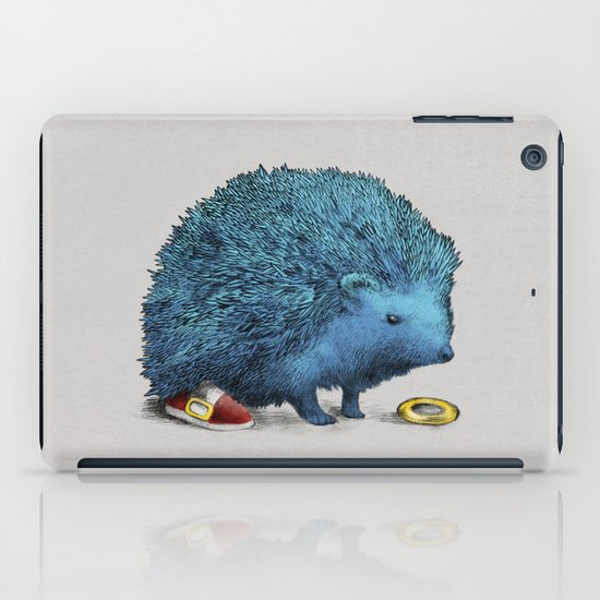 Sonic (color option) iPad Case