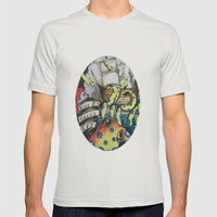 ceplalopod attack squad Mens Fitted Tee Silver SMALL