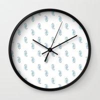 Polka Paisley Wall Clock