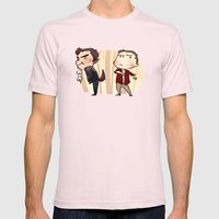 Gross Werewolves Mens Fitted Tee Light Pink SMALL