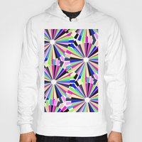 Hoody featuring MULTI COLOURED WHEELS by Louisa Hereford