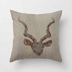 Deer Throw Pillow