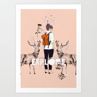 The Wilderness Art Print