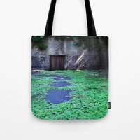 Over The Hill And Throug… Tote Bag
