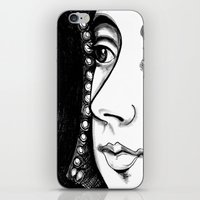Queen Anne Boleyn Portra… iPhone & iPod Skin