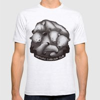 Naptime Cuddle Club Mens Fitted Tee Ash Grey SMALL