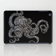 Barnacle Octopus In Blac… iPad Case