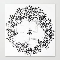 Dotty Canvas Print