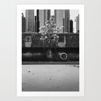 Urban Garden Art Print