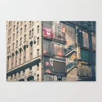 Building Kong Canvas Print