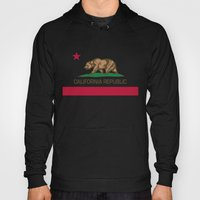 California Republic state flag - Authentic High Quality Version Hoody