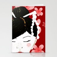 Japanese Beauty Stationery Cards