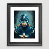 The Patriot Framed Art Print