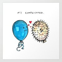 It's Complicated Art Print