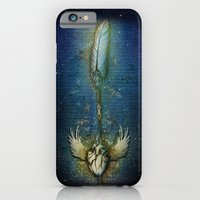 Write your heart out blue iPhone 6 Slim Case