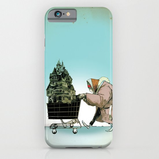 "Glue Network Print Series ""Homelessness"" iPhone & iPod Case"