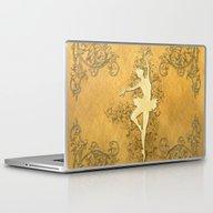 Laptop & iPad Skin featuring Beautiful Golden Balleri… by Nicky2342
