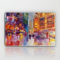 Walk in New York Laptop & iPad Skin