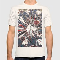 Abstract Duck Face Mens Fitted Tee Natural SMALL