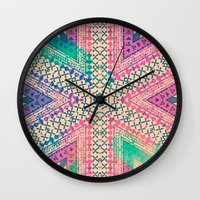 A Sunday Smile Wall Clock